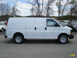 Summit White 2012 Chevrolet Express 1500 AWD Cargo Van Exterior ...