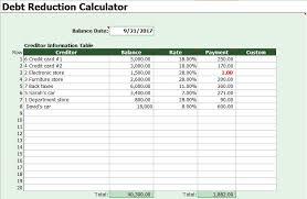 Online Debt Snowball Calculator Debt Snowball Calculator Template Excel Excel Tmp
