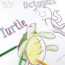 Here you could find a quick set of instructions, and in no time you could start colouring pages :) !! Ocean And Sea Animals Coloring Pages Free Printable Easy Peasy And Fun