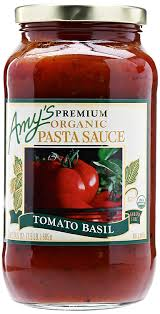 Amy S Light In Sodium Marinara Amazon Com Amys Pasta Sauces Tomato Basil Pasta Sauce
