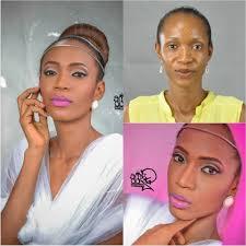 white wedding makeup inspirational 11 nigerian before after bridal makeup transformation s