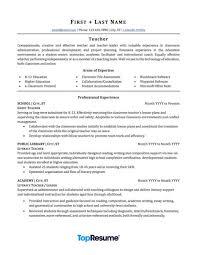 004 Resume Template For Teaching Ideas Preschool Amazing Objective