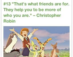 Winnie The Pooh Quote About Friendship Awesome Christopher Robin Friendship Quotes Quotesta