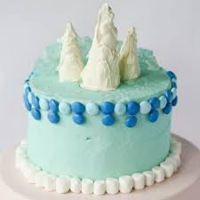 Frozen Inspired Birthday Cake Disney Family