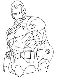 Iron Man Kleurplaat Kleur Nu Deze Marvel Kleurplaat In