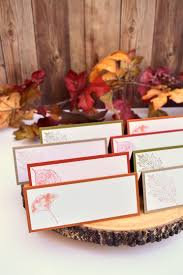 Fall Place Cards Thanksgiving Table Decor Autumn Wedding Escort Cards