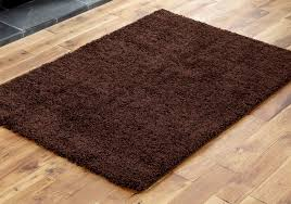 chocolate brown small large modern non shed thick 5cm high gy rugs runner circles