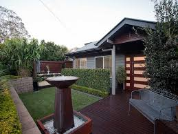 Small Picture garden design using brick with deck hedging Gardens photo 1477542