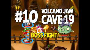 Angry Birds Epic Cave 19 Boss Fight! Level 10 - Volcano Jaw - 3 Star  Walkthrough - iOS, Android - YouTube