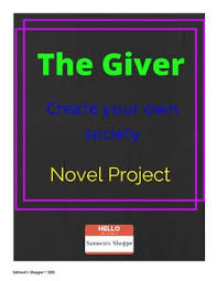 best lois lowry activities images lois lowry  the giver final project