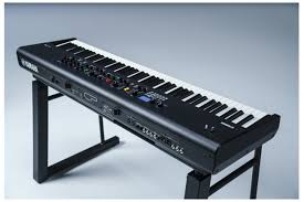 Musical keyboards with an audible and tactile response to register keystroke before they bottom out. Yamaha Cp88 Stage Keyboard 88 Key Heid Music