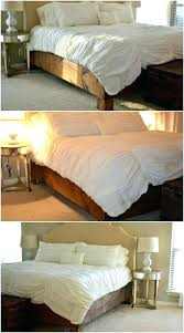 rustic bed plans. Modren Plans Rustic Bed Frame Frames Plans No Headboard   On Rustic Bed Plans