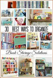 30 best ways to organize books storage