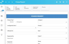 Change Request Management Workflow Template Digital Business Is