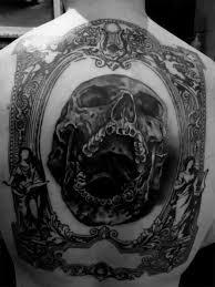 40 Skull Back Tetování Vzory Pro Muže Mužské Inkoustové Nápady