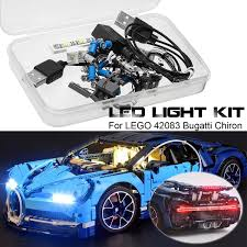 Lego Bugatti Chiron Light Kit Installation Us 79 22 48 Off Led Lighting Kit Only For Lego 42083 Bugatti Chiron Technic Set Usb Bright Light Set Not Include The Model Freeshipping On