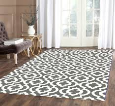 captivating gray and white area rug for indoor floor decor beautiful gray and white moroccan