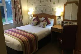 our standard bedrooms are a smaller size of room with a standard double bed these rooms look into an internal area of the hotel