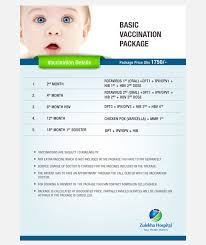 Vaccination Chart In Uae Vaccination Packages In Uae Zulekha Hospitals
