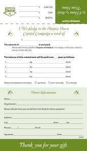 creditgroup nl sz fundraising pledge card template shtml