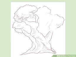 how to draw a treehouse step by step. Brilliant Draw Image Titled Draw A Tree House Step 2 For How To A Treehouse By R
