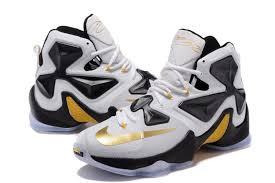 lebron nike basketball shoes. mens nike lebron james 13 basketball shoes black white