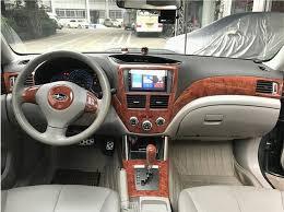2010 subaru forester interior. Contemporary Subaru Mahogany ABS Interior Air Conditioning Vent Rings Trims Cover For Subaru  Forester 2009 2010 2011 2012 D