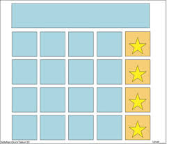 Gold Star Sticker Chart Rewards Sticker Chart