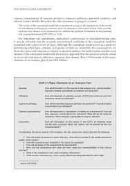 the design of risk assessments science and decisions  page 79