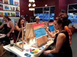 a paint sip studio