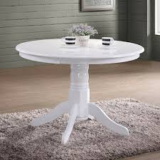 french dining table shabby chic furniture white round wooden small kitchen room 8944819741469