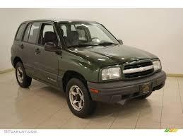 1999 Medium Green Metallic Chevrolet Tracker 4x4 #24493766 ...