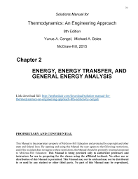 Download solution manual for thermodynamics an engineering approach ...