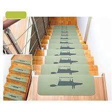 carpet stair treads anti skid stairs rug non slip floor step mats
