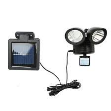 AllPro MSLED100 100 Degree LED Motionactivated Solar Light Solar Powered Outdoor Security Light Motion Detection