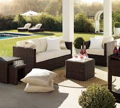 Outdoor Living Room Set Comfortable Outdoor Sofas Outdoor Sofa Sectional Chaise 6 Piece