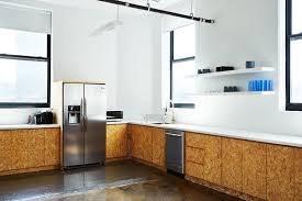 office in kitchen. Brad Sherman Of B.Sherman Studio Chipboard Kitchen Design For The Mobile Commons Office In