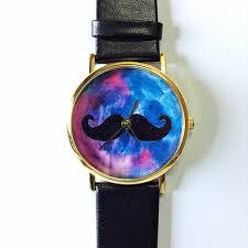 moustache watch galaxy watch vintage style watch victorian moustache watch galaxy watch vintage style watch victorian leather watch women s