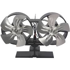 El Fuego Kaminofen Ventilator Dual 5 Blätter
