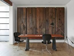 office feature wall. Simple Feature View In Gallery Wooden Panels Conceal A Large Murphy Bed Behind Them  Design Union Studio With Office Feature Wall
