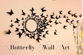 >butterflies wall decor fabsculture butterflies wall decor