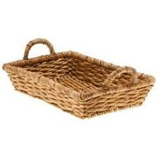 Decorative Wire Tray Round Decorative Wood Tray with Yellow Wire Edge and Handles 10000100100 68