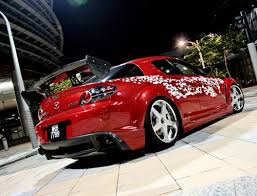 mazda rx8 modified red. mazda rx 8 modification rx8 modified red