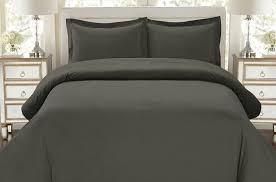hc collection 1500 thread count egyptian quality duvet cover set full queen size 3pc luxury soft queen gray ca home kitchen