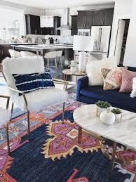 Updated Classics: 10 Living Room Ideas | Gold kitchen, Blue ...