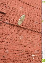 The Brick Lighting The Brick Wall Of The House Stock Image Image Of Light