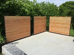 Sichtschutz Garten Edelstahl Holz