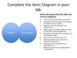 Federalists And Anti Federalists Venn Diagram Federalists Vs Anti Federalists Venn Diagram Drivenhelios