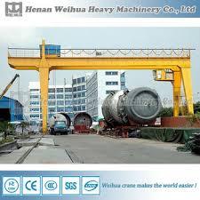 gantry crane plans. 130 ton gantry crane plans with electric wire rope hoist