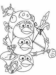 Small Picture Angry birds epic coloring page blue birds My Free Coloring